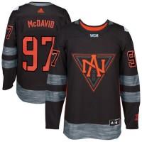 Team North America #97 Connor McDavid Black 2016 World Cup Stitched NHL Jersey