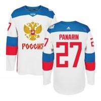 Team Russia #27 Artemi Panarin White 2016 World Cup Stitched NHL Jersey