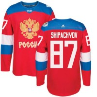 Team Russia #87 Vadim Shipachyov Red 2016 World Cup Stitched NHL Jersey
