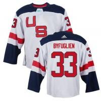 Team USA #33 Dustin Byfuglien White 2016 World Cup Stitched NHL Jersey
