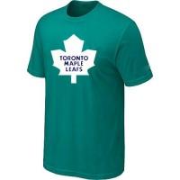 Toronto Maple Leafs Big & Tall Logo Teal Green NHL T-Shirts