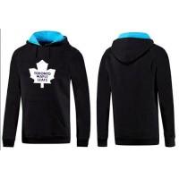 Toronto Maple Leafs Pullover Hoodie Black & Blue