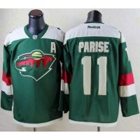Wild #11 Zach Parise Green 2016 Stadium Series Stitched NHL Jersey