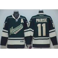 Wild #11 Zach Parise Green Stitched NHL Jersey