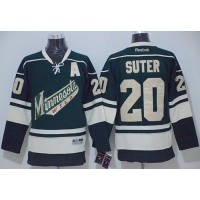 Wild #20 Ryan Suter Green Stitched NHL Jersey