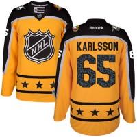 Women's Ottawa Senators #65 Erik Karlsson Yellow 2017 All-Star Atlantic Division Stitched NHL Jersey
