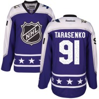 Women's St. Louis Blues #91 Vladimir Tarasenko Purple 2017 All-Star Central Division Stitched NHL Jersey