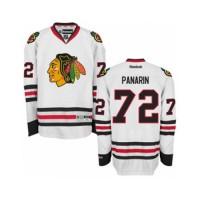Youth Chicago Blackhawks #72 Artemi Panarin White Away NHL Jersey