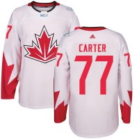 Youth Team Canada #77 Jeff Carter White 2016 World Cup Stitched NHL Jersey