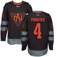 Youth Team North America #4 Colton Parayko Black 2016 World Cup Stitched NHL Jersey