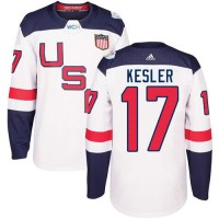 Youth Team USA #17 Ryan Kesler White 2016 World Cup Stitched NHL Jersey