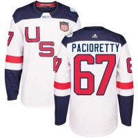 Youth Team USA #67 Max Pacioretty White 2016 World Cup Stitched NHL Jersey