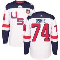 Youth Team USA #74 T. J. Oshie White 2016 World Cup Stitched NHL Jersey