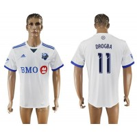 Montreal Impact #11 Drogba Away Soccer Club Jersey