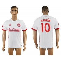 Atlanta United FC #10 Almiron Away Soccer Club Jersey