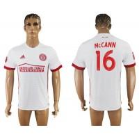 Atlanta United FC #16 Mccann Away Soccer Club Jersey