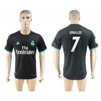 Real Madrid #7 Ronaldo Away Soccer Club Jersey