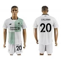 Liverpool #20 Lallana Away Soccer Club Jersey