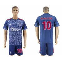 Ajax #10 Klaassen Away Soccer Club Jersey