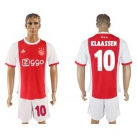 Ajax #10 Klaassen Home Soccer Club Jersey