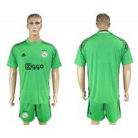 Ajax Blank Green Goalkeeper Soccer Club Jersey