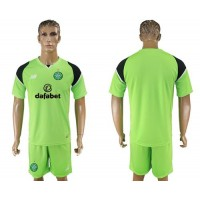 Celtic Blank Green Goalkeeper Soccer Club Jersey