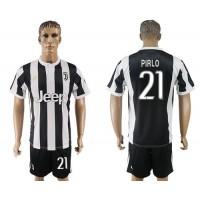 Juventus #21 Pirlo Home Soccer Club Jersey