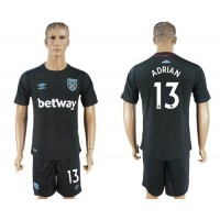 West Ham United #13 Adrian Away Soccer Club Jersey