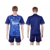 Ajax Blank Away Soccer Club Jersey
