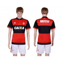 Flamengo Blank Home Soccer Club Jersey