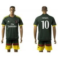 AC Milan #10 Honda Sec Away Soccer Club Jersey