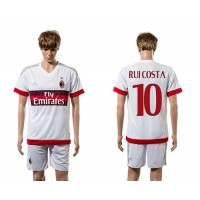 AC Milan #10 Ruicosta Away Soccer Club Jersey