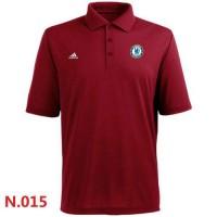 Adidas Chelsea FC Textured Solid Performance Polo Red