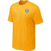 Adidas Chelsea Soccer T-Shirts Yellow