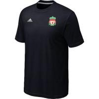Adidas Liverpool Soccer T-Shirts Black