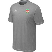 Adidas Liverpool Soccer T-Shirts Light Grey