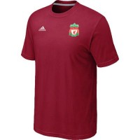 Adidas Liverpool Soccer T-Shirts Red