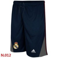 Adidas Real Madrid CF Soccer Shorts Dark Blue