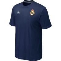 Adidas Real Madrid Soccer T-Shirts Dark Blue