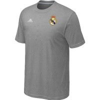 Adidas Real Madrid Soccer T-Shirts Light Grey