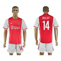 Ajax #14 Cruijff Home Soccer Club Jersey