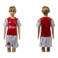 Ajax Personalized Home Kid Soccer Club Jersey