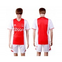 Ajax Blank Home Soccer Club Jersey