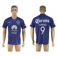 America #9 R.Jimenez Blue Soccer Club Jersey