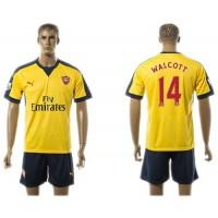 Arsenal #14 Walcott Away Soccer Club Jersey