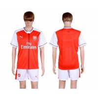 Arsenal Blank Home Soccer Club Jersey