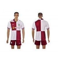 Aston Villa Personalized Away Soccer Club Jersey