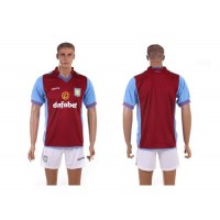 Aston Villa Personalized Red Home Soccer Club Jersey