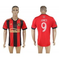 Atlanta United FC #9 Jones Home Soccer Club Jersey