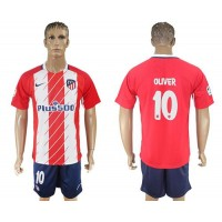 Atletico Madrid #10 Oliver Home Soccer Club Jersey